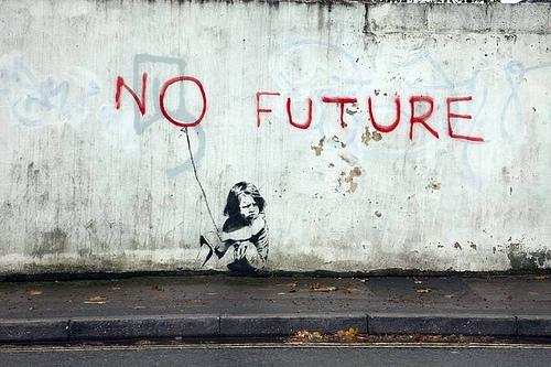 VAMOS A MORIR TODOS!!!!!!! - Página 5 Banksy_no_future_1