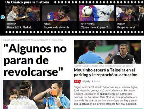 El cumpleaños de Mourinho coincidió con la resaca del Barcelona Real Madrid