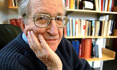 El activista norteamericano Noam Chomsky
