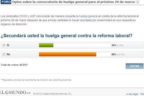 Resultados provisionales en El Mundo a las 18:40h del 9/3/2012